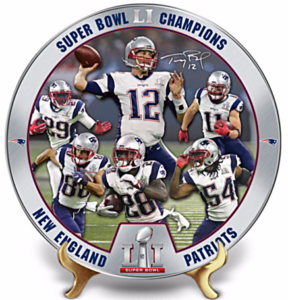 Patriots Heirloom Porcelain Plate