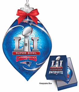 Patriots Ornament