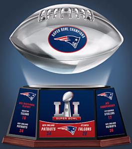 Patriots Levitating Football